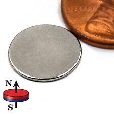"N45 Neodymium Magnet Dia 1/2x 1/32"" Bottle Cap Necklace Craft Magnets 500-Count"