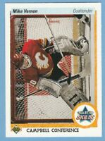 1990-91 Upper Deck #495 Mike Vernon Flames