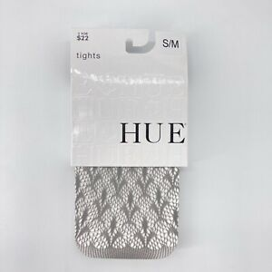 HUE Steel Gray Fluer De Lis Net Tights #U13680 S/M or M/L