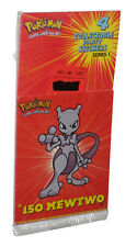 Pokemon Collectable Party Stickers (1999) Series 1 Mewtwo Pack - (4 Stickers)