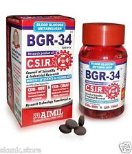 Aimil BGR-34 Tablets Natural Herbal Blood Glucose Metaboliser Research Product