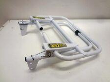 Portapacchi rack post. acciaio steel bianco white VESPA PX 125-150-200 -cod2011B
