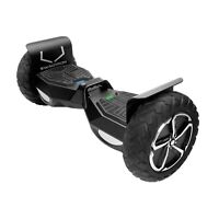 Swagtron Hoverboard Adults Electric Scooter Off-Road Self-Balancing Outlaw T6 BK