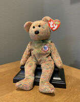 TY SPECKLES Beanie Baby Bear Mint w/ Mint Tag (Internet Exclusive 2000) RARE