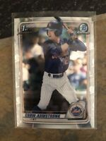 2020 Bowman Chrome Draft Pete Crow-Armstrong Rookie Card Mets 🔥🔥🔥