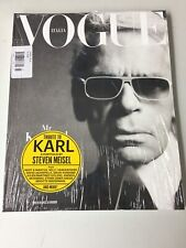 Vogue Italia Vogue Italy March 2019 Karl Lagerfeld SEALED COPY