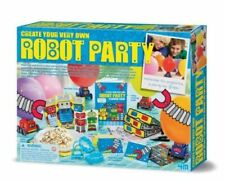Robot Party Kit by 4M Kidz Labs! - Birthday party kit Brand NEW Fast Shipping!