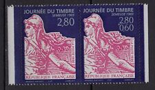 **Timbres / Paire : Neuf*MNH*TBE Journée du Timbre SEMEUSE 1996 (ns°2990-2991)