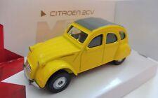 CITROEN 2CV Jaune Mondo Motors 1/43 Neuf boite d'origine