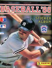 Panini Baseball 1988 Sticker Album Don Mattingly No Stickers EX 090216jhe