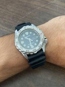 SEIKO Divers Watch - 7N36-6A49- 200M- Men's Quartz Blue dial, New Battery