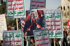 Original Yemen muslim Religious Houthi Ansar Allah Military Vinyl Banner Flag