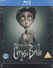 The Corpse Bride - Limited Edition Blu Ray Steelbook  -