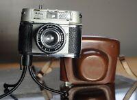Haking Halina Rolls 35mm Film Camera with 45mm F3.5 Fixed Anastigmat Lens & Orig