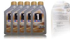 Mobil 1 FS (ersetzt NEW LIFE) 0W-40 5x1  Liter Motoröl MERCEDES VW PORSCHE