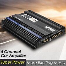 3800 Watt RMS 4 CH Channel Powerful Car Audio Power Stereo Amplifier Amp 4Ohm