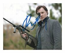DAVID MORRISSEY - THE WALKING DEAD AUTOGRAPHED SIGNED A4 PP POSTER PHOTO