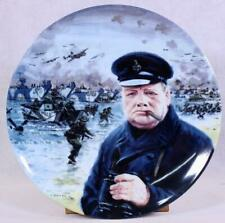 """Royal Doulton """"We Shall Fight On The Beaches."""" D-Day Landings Collector's Plate"""
