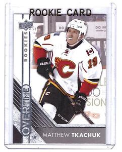 Matthew Tkachuk 2016-17 Upper Deck Overtime Rookie Card #174