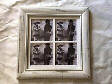MULTI PHOTO FRAME (4) Shabby Chic Hamptons Rustic Vintage Antique Distressed