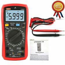 Uni T Ut890d Digital True Rms Handheld Multimeter Rel Acdc Frequency Testerkd