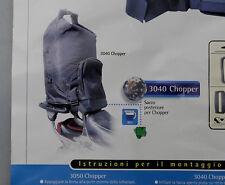 PRL) SACCO BORSA RUNBAG CHOPPER CUSTOM MOTOCICLETTA MOTO x HARLEY GUZZI 30 LT