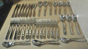 39 ~ Nambe 18/10 Stainless Steel Flatware *ANNA