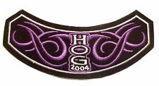 Harley-Davidson 2004 H.O.G. Patch, NEW! Size approx. 6 in. by 2 in.