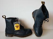 UK 12 EU 47 US 13 Dr. Martens 1460 marine blue navy smooth Boots 8 eye leather