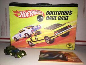 Hot Wheels Collectors Race Case Redline Catalog Sizzler Angeleno M-70 1969 NR