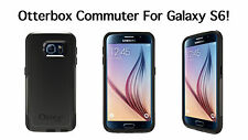 Authentic OtterBox COMMUTER SERIES Samsung Galaxy S6 (Black) 77-51202   22/c