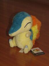 "7"" CYNDAQUIL Pokemon Center Poke Plush Sitting Doll - SUPER SOFT FLAME!"