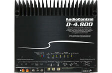 AudioControl D-4.800 HIGH-POWER 4 CHANNEL DSP MATRIX AMPLIFIER WITH ACCUBASS