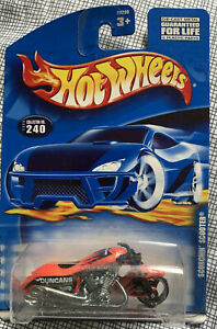 RARE HOT WHEELS SCORCHIN SCOOTER DUNCANS MOTORCYCLE #240 TREASURE HUNT SUPER NYC
