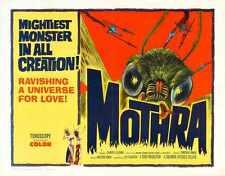 Mothra 1962 Poster 02 A3 Box Canvas Print