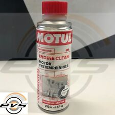 Motul Engine Clean Moto Additivo Pulitore Lavaggio Olio Motore Elimina Morchie