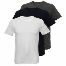 HUGO BOSS No Pattern Regular Loose Fit T-Shirts for Men