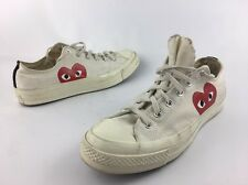 Pre-Owned PLAY x Converse Chuck Taylor® - 'Hidden Heart' Low Top Sneaker Size 8