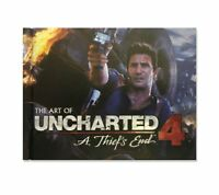Uncharted 4 A Thief's End Art Book PS4 - 1st Class Delivery