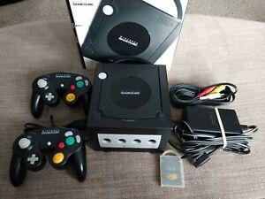 Nintendo GameCube Jet Black Console with original box