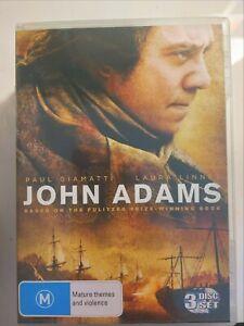 John Adams ( 3 DVD Set ) Region 4, FREE Next Day Post from NSW