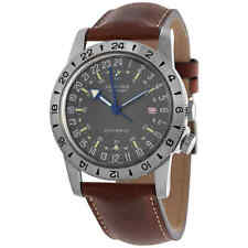 """Glycine Airman Vintage """"The Chief"""" GMT Automatic Men's Watch GL0183"""