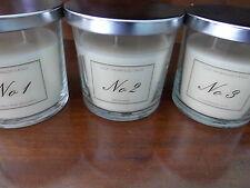 2 Cristal Aldi Velas Perfumadas Blackberry Bay y cal Albahaca mandarín no 1 no 2