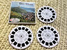 Viewmaster - Der Rhein - 3 x Reel Set