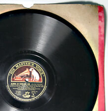 78rpm shellac record - Bach. Gloria in Excelsis Deo. mass in b minor.