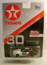 2017 '17 FORD MUSTANG GT #30 RACE CAR TEXACO GAS AW AUTO WORLD DIECAST