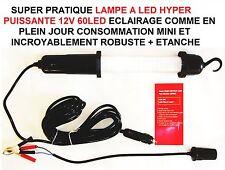 JEEP LAND RANGE HUMMER DEFENDER DISCOVERY! LAPPE 12V 75W 60 LED HYPER PUISSANTE