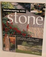 Home Landscaping: Landscaping with Stone : Create Patios, Walkways, Walls Book