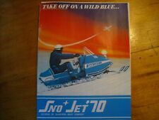 1970 Sno Jet Snowmobile Brochure
