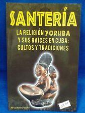 Libro Santeria de la religion yoruba ifa santeria esoterica